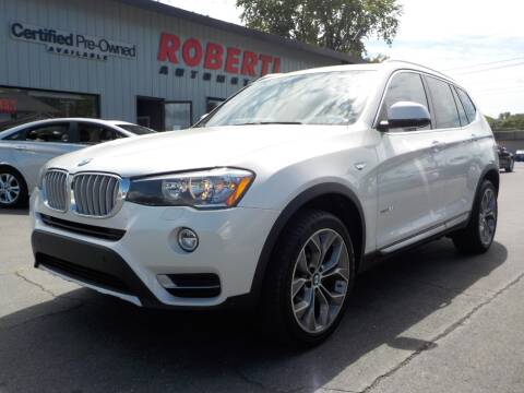 2017 BMW X3 for sale at Roberti Automotive in Kingston NY