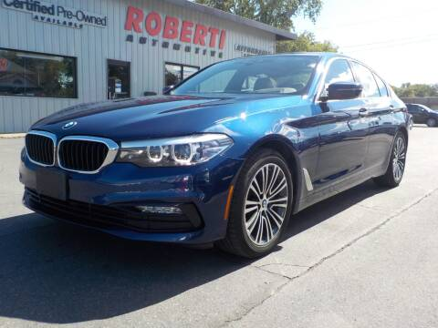 2018 BMW 5 Series for sale at Roberti Automotive in Kingston NY