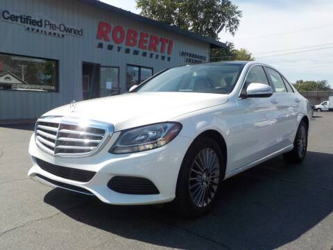 2015 Mercedes-Benz C-Class for sale at Roberti Automotive in Kingston NY