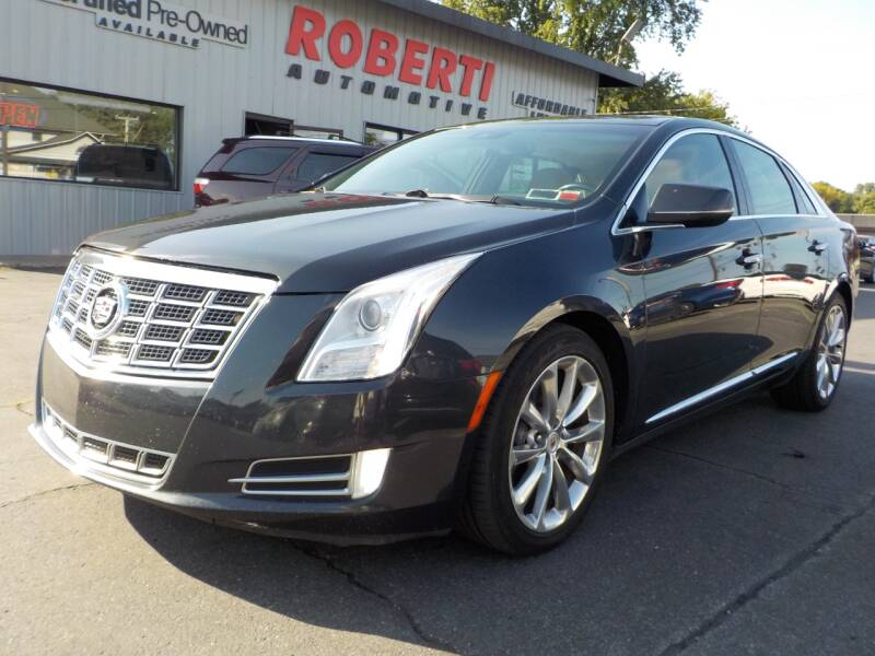 2014 Cadillac XTS for sale at Roberti Automotive in Kingston NY