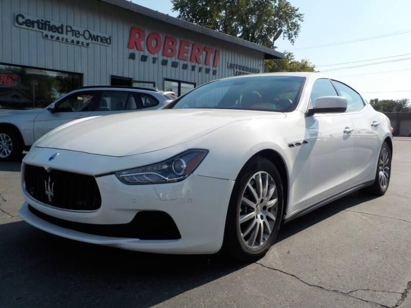 2014 Maserati Ghibli for sale at Roberti Automotive in Kingston NY