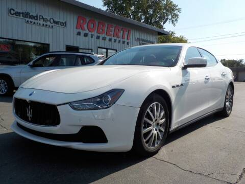 2014 Maserati Ghibli for sale at Roberti Automotive in Kingston NY