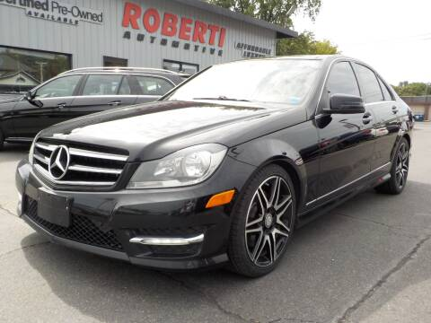 2013 Mercedes-Benz C-Class for sale at Roberti Automotive in Kingston NY