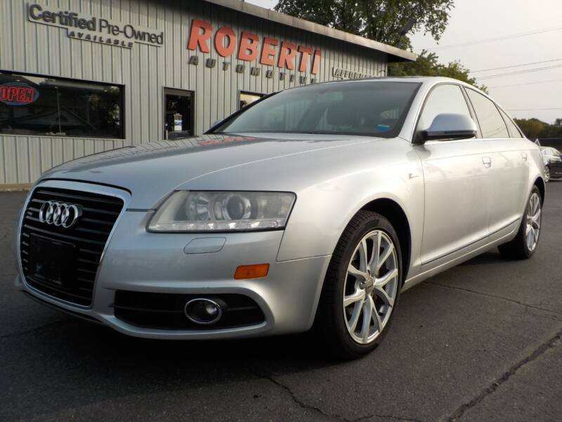 2011 Audi A6 for sale at Roberti Automotive in Kingston NY