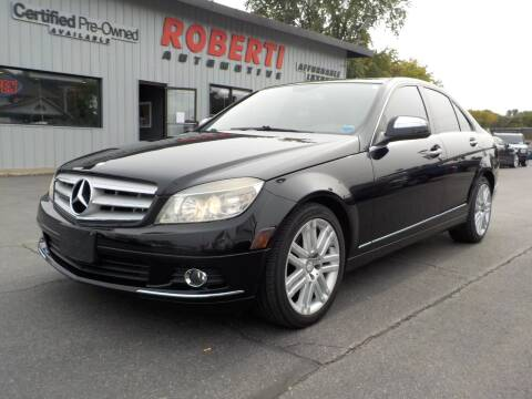 2009 Mercedes-Benz C-Class for sale at Roberti Automotive in Kingston NY