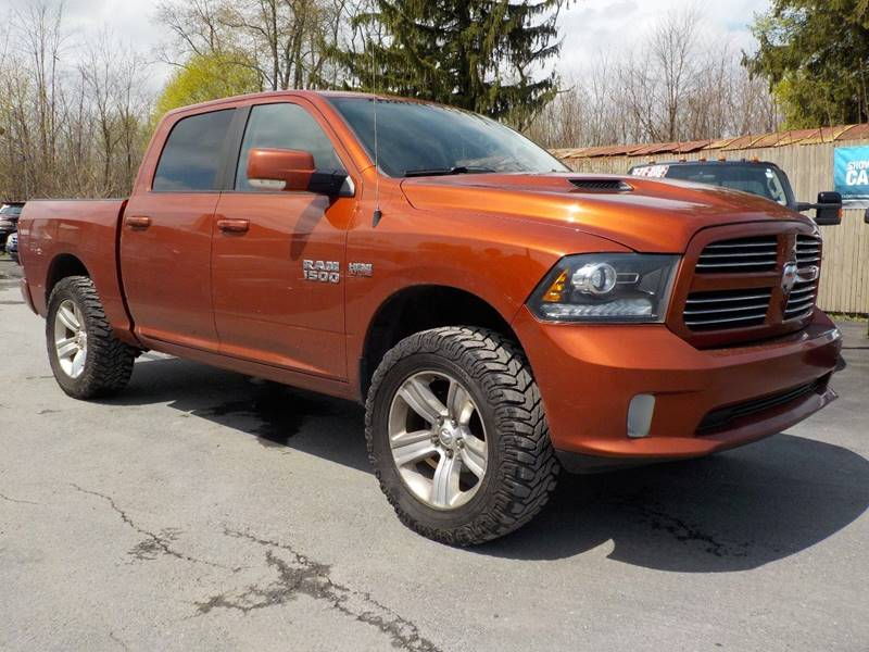 2013 RAM Ram Pickup 1500 4x4 Sport 4dr Crew Cab 5.5 ft. SB Pickup - Kingston NY