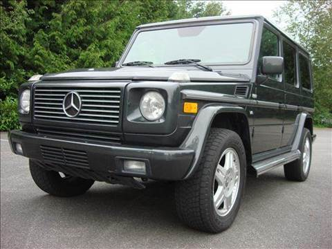 2002 Mercedes-Benz G-Class for sale at Maharaja Motors in Seattle WA