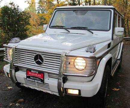 2003 Mercedes-Benz G-Class for sale at Maharaja Motors in Seattle WA