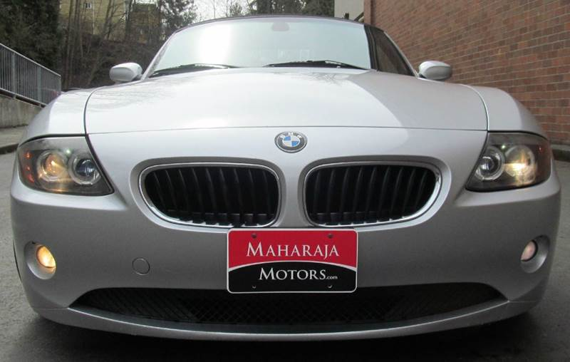 2004 BMW Z4 for sale at Maharaja Motors in Seattle WA