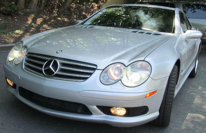 2004 Mercedes-Benz SL-Class for sale at Maharaja Motors in Seattle WA