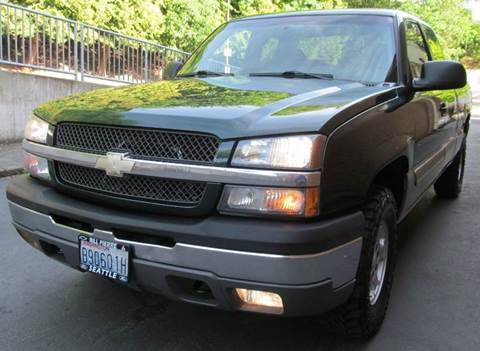 2003 Chevrolet Silverado 1500 for sale at Maharaja Motors in Seattle WA