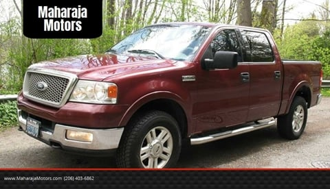 2004 Ford F-150 for sale at Maharaja Motors in Seattle WA