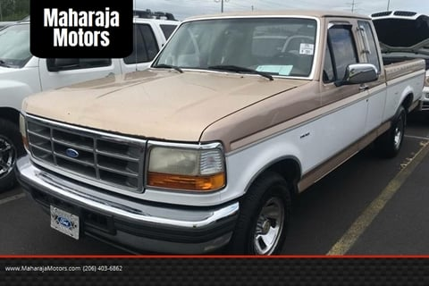 1996 ford pickup value