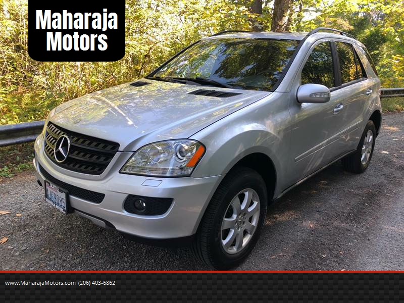 2006 Mercedes Benz M Class Awd Ml 350 4matic 4dr Suv In Seattle Wa