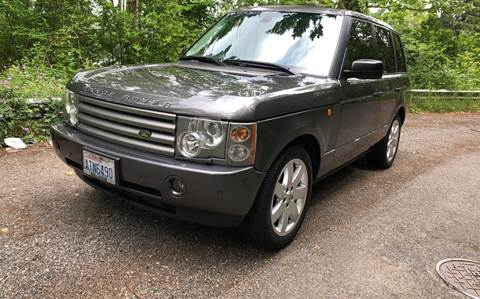 2005 Land Rover Range Rover for sale at Maharaja Motors in Seattle WA