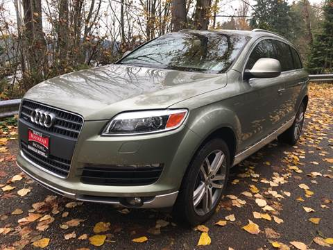2007 Audi Q7 for sale at Maharaja Motors in Seattle WA
