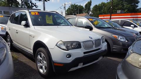 2007 BMW X3 for sale at Car Complex in Linden NJ