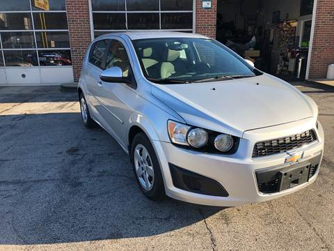 2015 Chevrolet Sonic for sale at Hensley Auto Sales in Frankfort KY