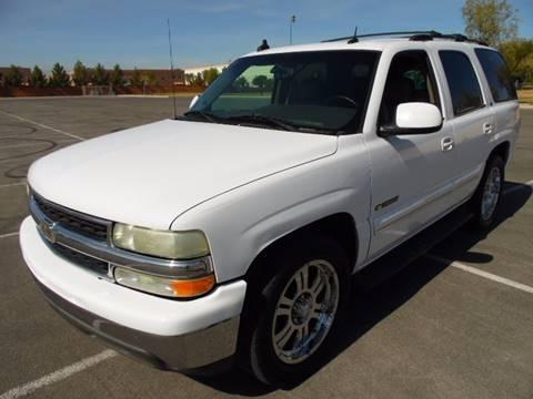 2003 Chevrolet Tahoe for sale in Las Vegas, NV