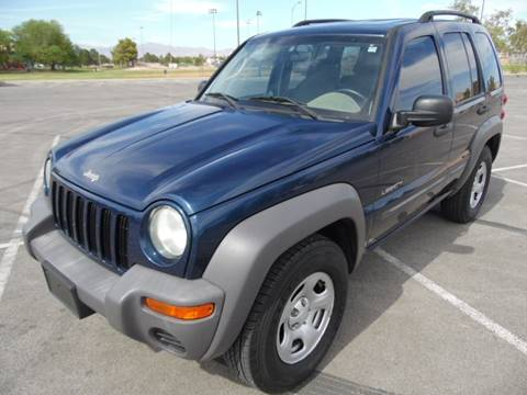 2004 Jeep Liberty for sale in Las Vegas, NV