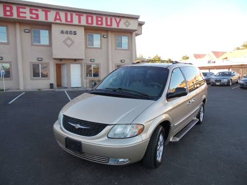 2001 Chrysler Town and Country for sale in Las Vegas, NV