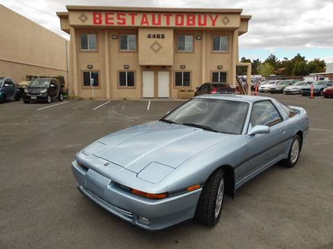 1989 Toyota Supra for sale at Best Auto Buy in Las Vegas NV