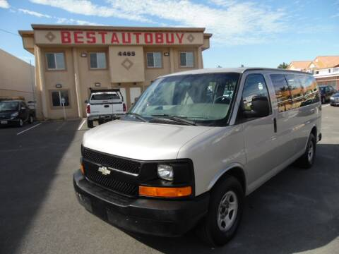 2005 Chevrolet Express Passenger 1500 for sale at Best Auto Buy in Las Vegas NV