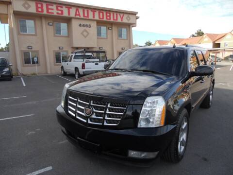 2007 Cadillac Escalade ESV for sale at Best Auto Buy in Las Vegas NV