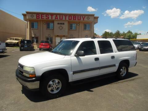 2003 Chevrolet Suburban for sale at Best Auto Buy in Las Vegas NV