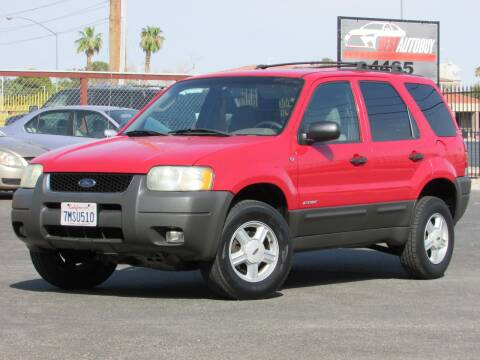 2002 Ford Escape for sale at Best Auto Buy in Las Vegas NV