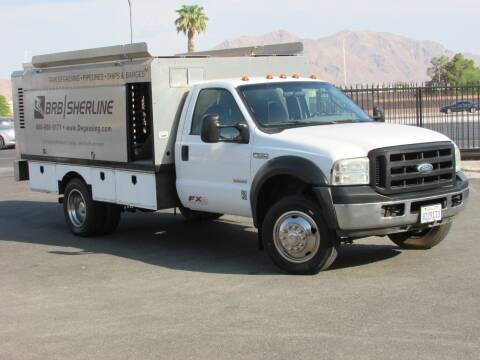 2006 Ford F-550 Super Duty for sale at Best Auto Buy in Las Vegas NV