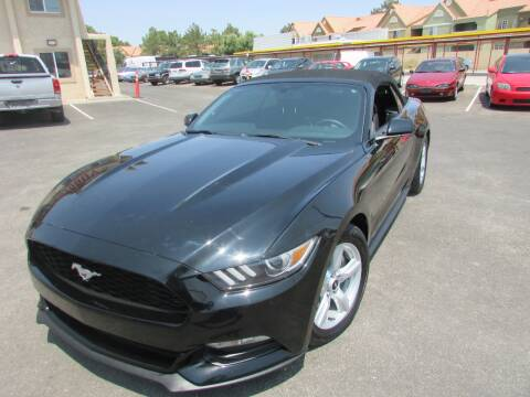 2015 Ford Mustang for sale at Best Auto Buy in Las Vegas NV