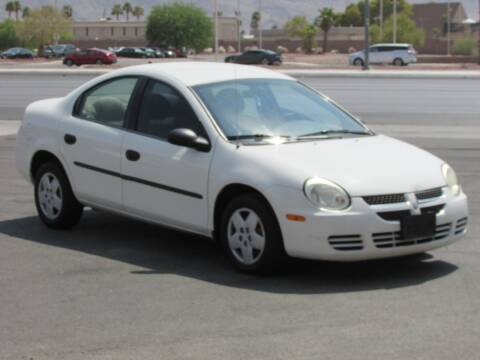2004 Dodge Neon for sale at Best Auto Buy in Las Vegas NV