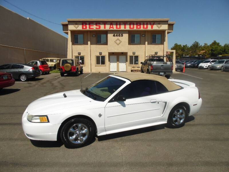 1999 Ford Mustang for sale at Best Auto Buy in Las Vegas NV