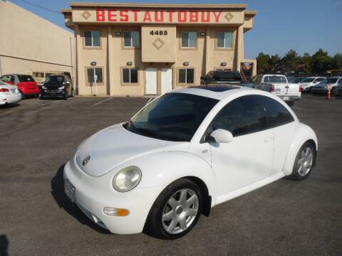 2002 Volkswagen New Beetle for sale at Best Auto Buy in Las Vegas NV