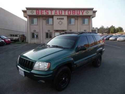 1999 Jeep Grand Cherokee for sale at Best Auto Buy in Las Vegas NV