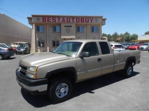 2006 Chevrolet Silverado 2500HD for sale at Best Auto Buy in Las Vegas NV