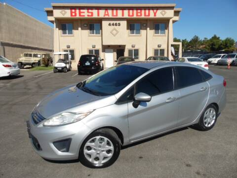 2012 Ford Fiesta for sale at Best Auto Buy in Las Vegas NV