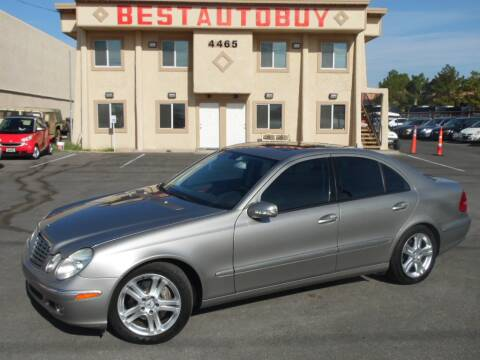 2005 Mercedes-Benz E-Class for sale at Best Auto Buy in Las Vegas NV