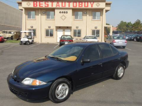 2001 Chevrolet Cavalier for sale at Best Auto Buy in Las Vegas NV