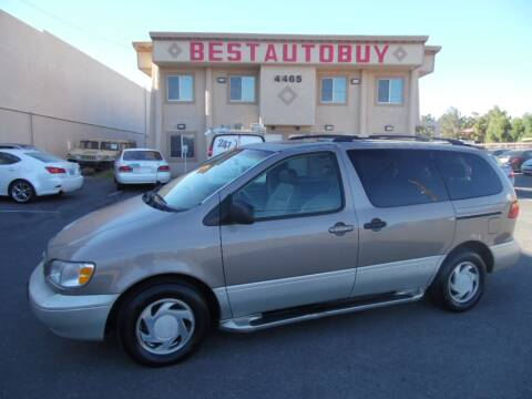1998 Toyota Sienna for sale at Best Auto Buy in Las Vegas NV