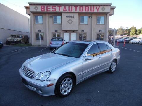 2005 Mercedes-Benz C-Class for sale at Best Auto Buy in Las Vegas NV