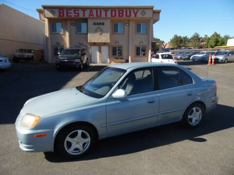 2003 Hyundai Accent for sale at Best Auto Buy in Las Vegas NV