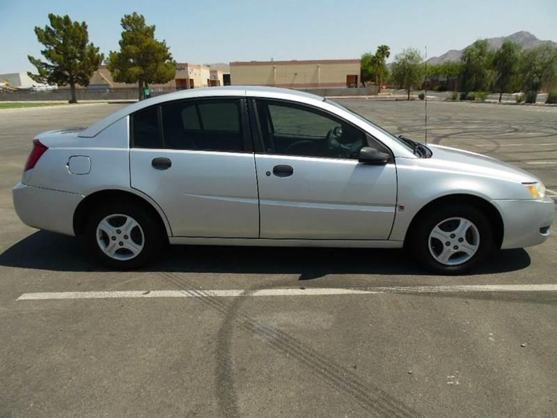 2004 Saturn Ion 1 4dr Sedan In Las Vegas NV - Best Auto Buy