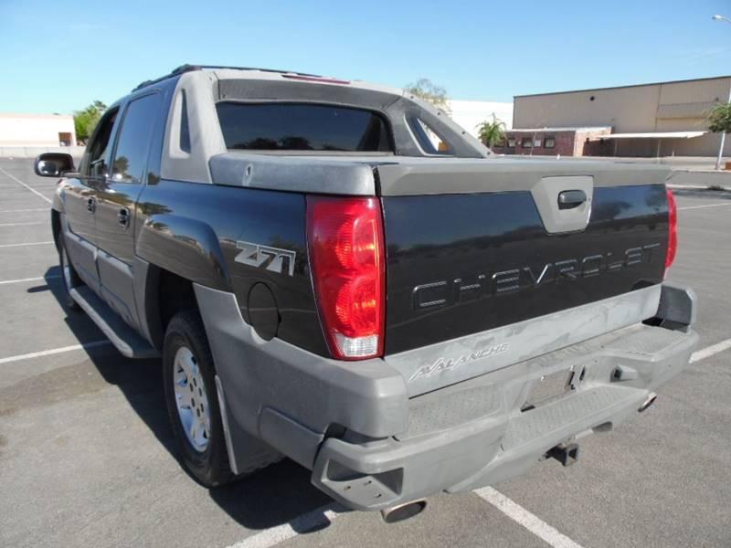 2002 Chevrolet Avalanche 4dr 1500 4WD Crew Cab SB - Las Vegas NV