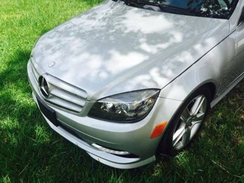Used 2011 mercedes benz c class for sale in florida for Used mercedes benz for sale in jacksonville florida
