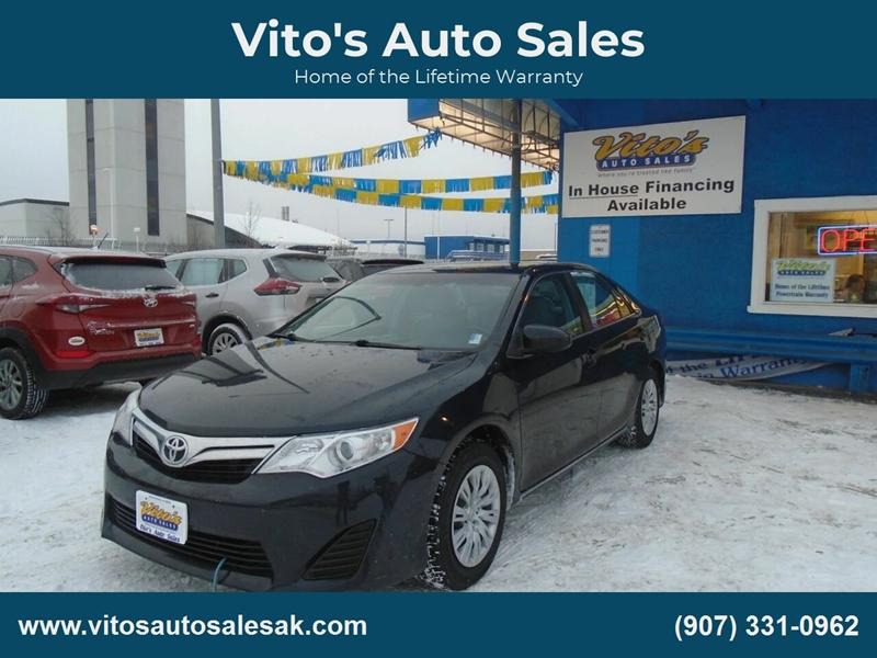 2012 Toyota Camry Le 4dr Sedan In Anchorage Ak Vito S Auto Sales