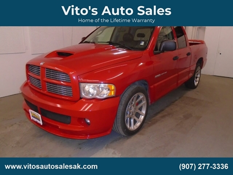 Srt10 For Sale >> 2005 Dodge Ram Pickup 1500 Srt 10 For Sale In Anchorage Ak