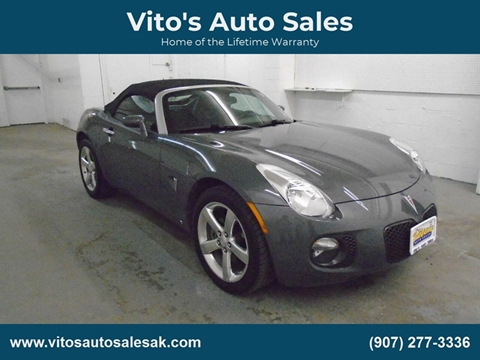 2008 Pontiac Solstice for sale in Anchorage, AK