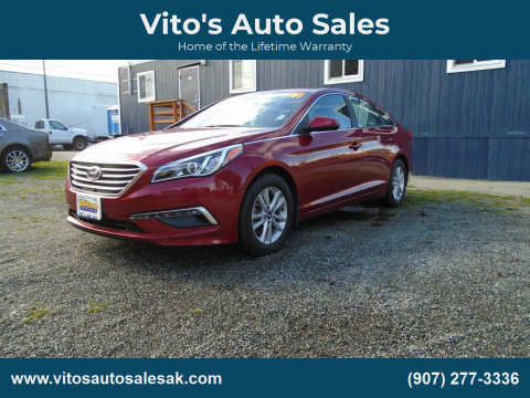 2015 Hyundai Sonata for sale at Vito's Auto Sales in Anchorage AK